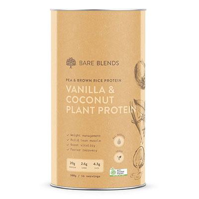 Vanilla-coconut-plant-protein